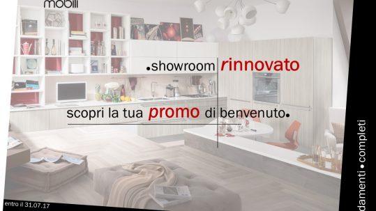 promozione mobili di benvenuto